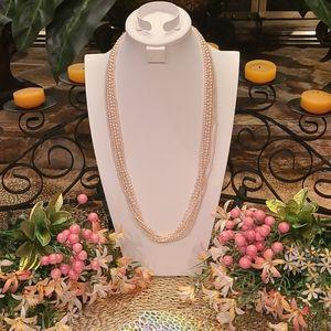 ✴Marcella 5 Strand Faux Pearl Necklace
